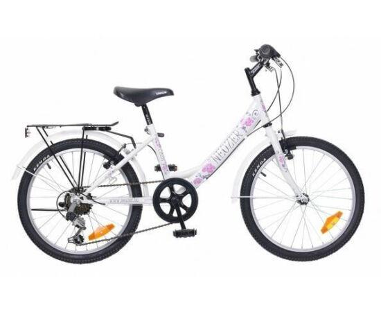 Neuzer Cindy City 20-as, 6 sebességes lány kerékpár, fehér