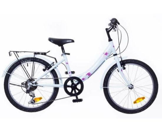 Neuzer Cindy City 20-as, 6 sebességes lány kerékpár, világoskék