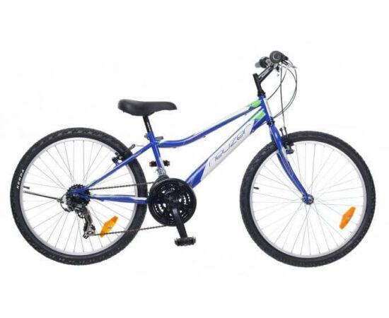 Neuzer Bobby 24-es, hobbi MTB fiú kerékpár, kék-fehér