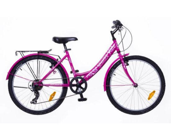 Neuzer Cindy City 24-es lány kerékpár, rózsaszín