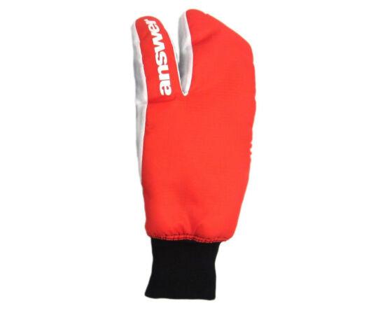 Answer Sleestack 3 ujjas téli kesztyű, piros-fehér XL