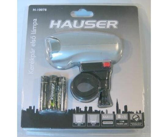 Hauser első lámpa, 6 LED, ezüst