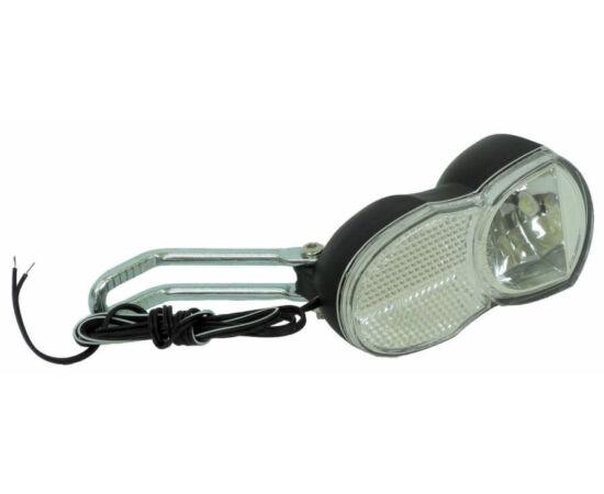 Trinity dinamós LED első lámpa, 6V 1W, vezetékkel