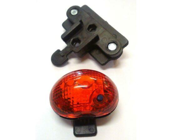 Jing Yi-235R hátsó lámpa kosárra, 1 LED