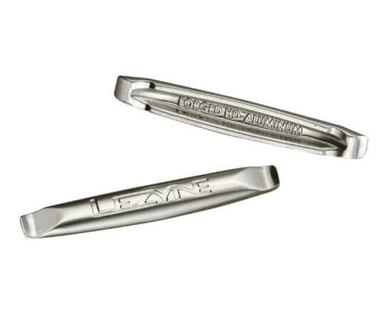Lezyne Alloy Lever alumínium gumileszedő szerszám, ezüst színű, 2db