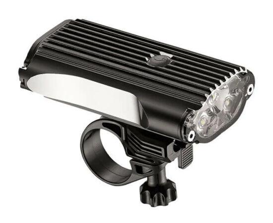 Lezyne Mega Drive 1200lm első lámpa, fekete