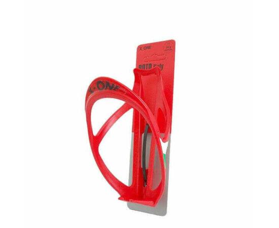 Roto X-One műanyag kulacstartó, piros