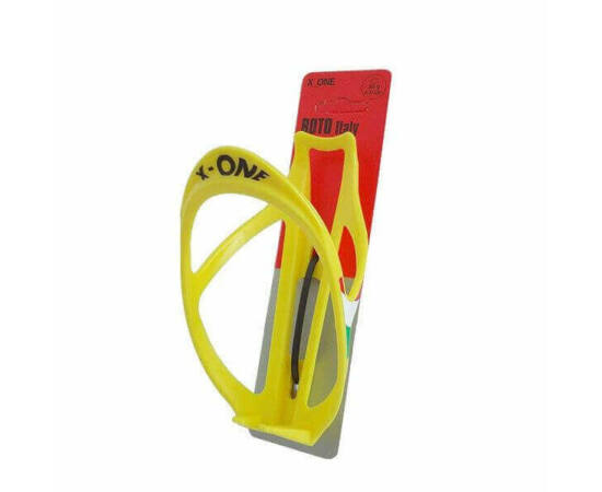 Roto X-One műanyag kulacstartó, sárga