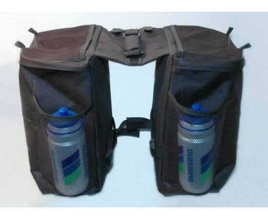 Trinity túratáska hátsó csomagtartóra, 2 részes, 2x10L