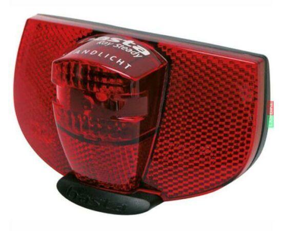Axa Ray dinamós LED hátsó lámpa csomagtartóra, állófény funkcióval, 50-80 mm