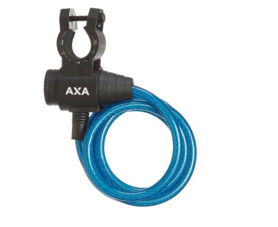 Axa Zipp kulacsos sodronyzár, 120 cm x 8 mm, kék