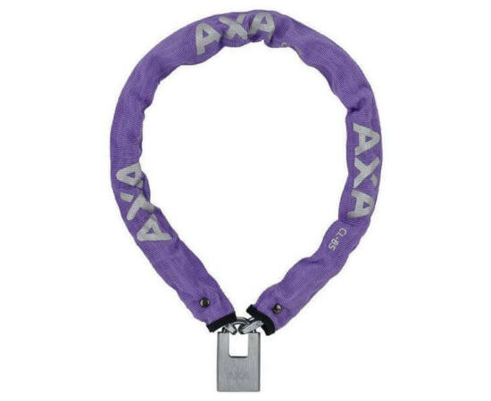 Axa Clinch láncos lakat, 85 cm, lila