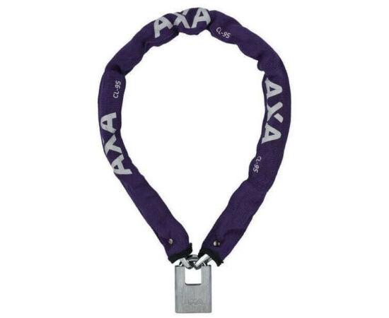 Axa Clinch láncos lakat, 95 cm, lila