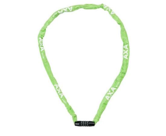 Axa Rigid számkombinációs integrált láncos lakat, 120 cm, zöld