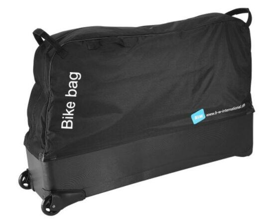 B&W Kerékpárszállító gurulós táska, fekete