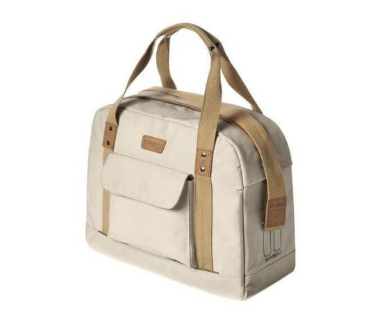 Basil Portland Women táska csomagtartóra, 19L, krém