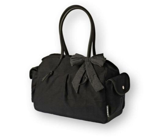 Basil Katharina Shoulder táska csomagtartóra, fekete