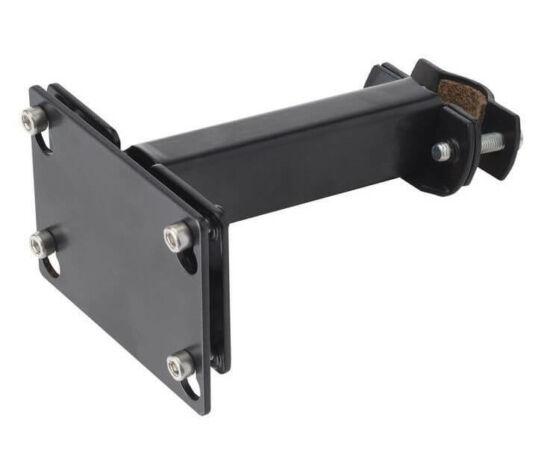Basil Permanent-System II első kosár rögzítő konzol, 22-25,4 mm, fekete