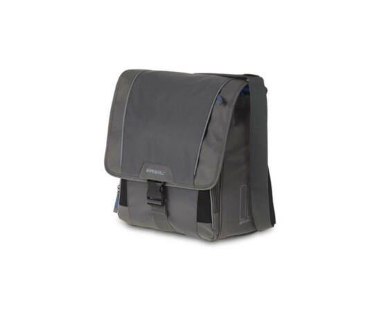 Basil Sport Design-Commuter táska csomagtartóra, szürke