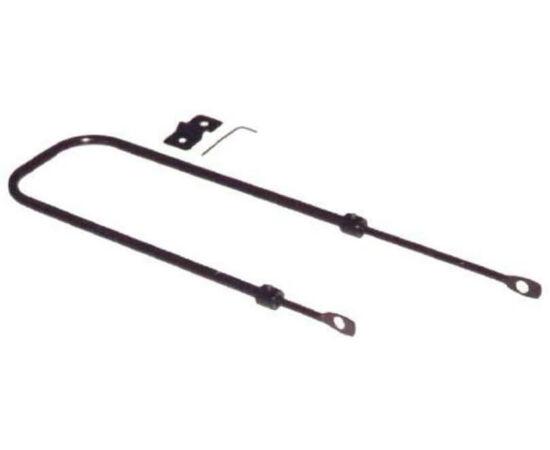 Basil Stay Straight kosár tartó pálca, állítható (330-530 mm), acél, fekete