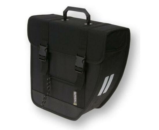 Basil Tour Single 17L táska csomagtartóra, jobb oldali, fekete