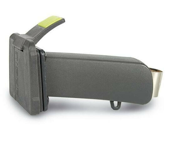 Basil Baseasy II állítható hosszúságú kormányszárra szerelhető kosár vagy táska rögzítő konzol, 22,2-25,4 mm, fekete