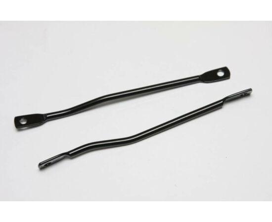 Csomagtartó rögzítő pálca párban, 180 mm, fekete