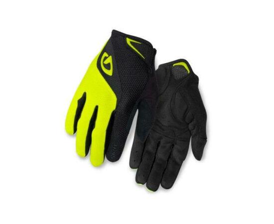 Giro Bravo hosszú ujjú kerékpáros férfi kesztyű, fekete-sárga, M-es