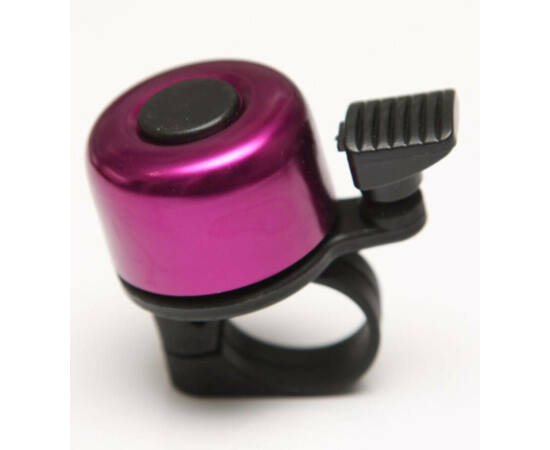 Velotech Billy csengő, alu-műanyag, 35 mm, lila