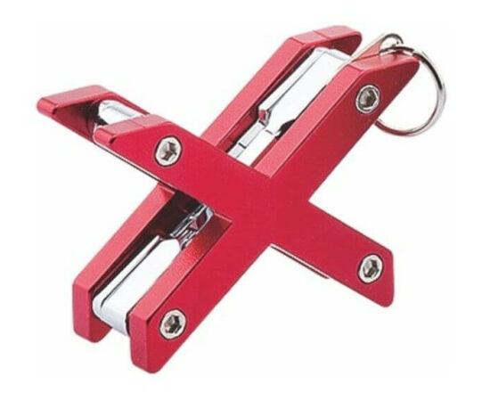 BikeHand 8 funkciós mini zseb-szerszámkészlet, piros