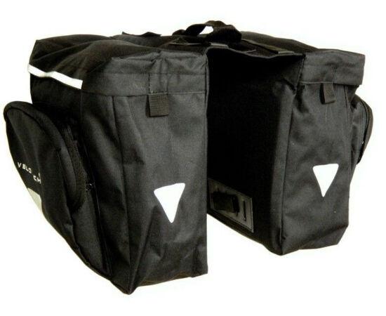 Velotech túratáska hátsó csomagtartóra, 2x10,9L