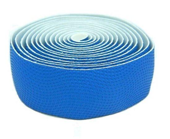 Velotech szövethatású szivacs kormányszalag (bandázs), kék, párban