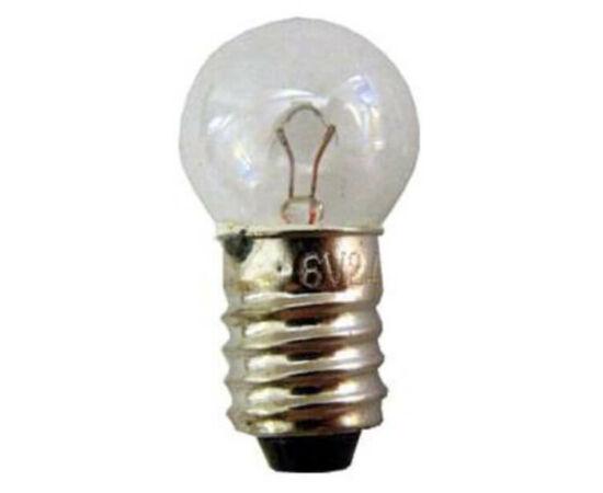 Hagyományos izzó dinamós első lámpába, menetes, 6V / 2,4W