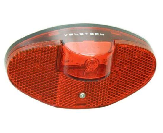 Velotech elemes LED hátsó lámpa csomagtartóra