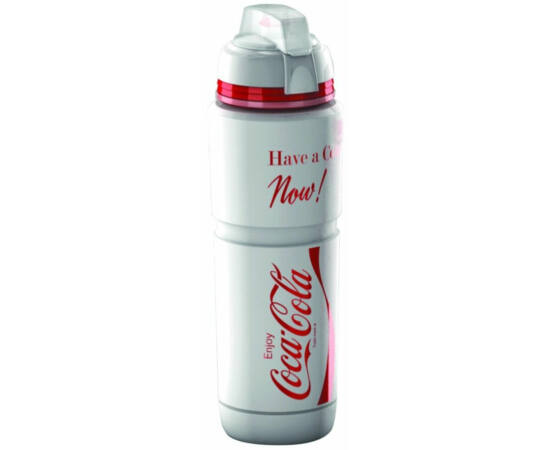 Elite Corsa Maxicorsa Coca-Cola kulacs, 1000 ml, csavaros, védőkupakkal, fehér
