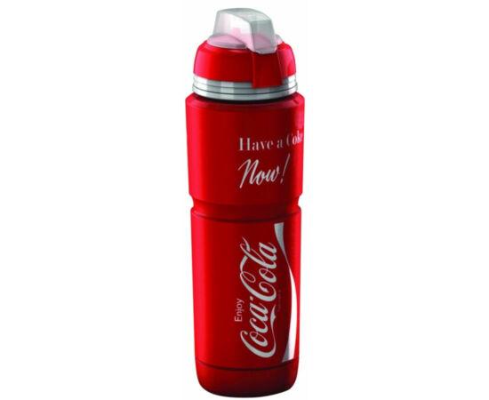 Elite Corsa Maxicorsa Coca-Cola kulacs, 1000 ml, csavaros, védőkupakkal, piros