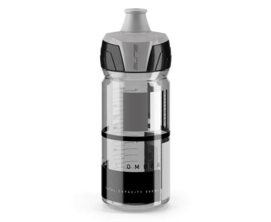 Elite Crytal Ombra kulacs 550 ml, csavaros, füst színű, szürke