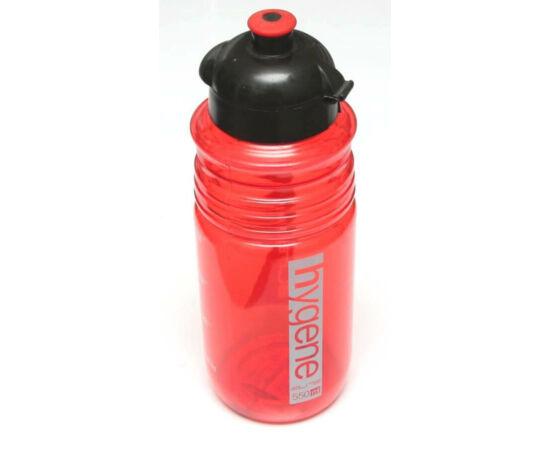 Elite Hygene kulacs 550 ml csavaros, átlátszó, piros