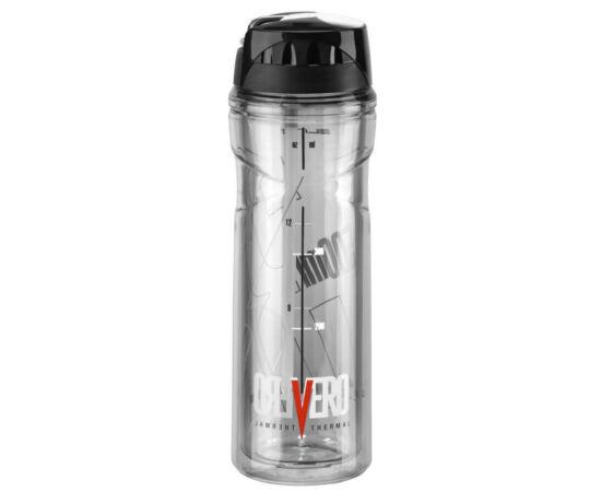 Elite Vero Thermal hőszigetelt kulacs (3 óra) 500 ml csavaros, füst színű