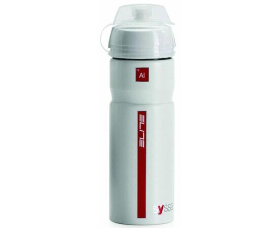 Elite Syssa alumínium kulacs 750 ml csavaros, védőkupakkal, fehér