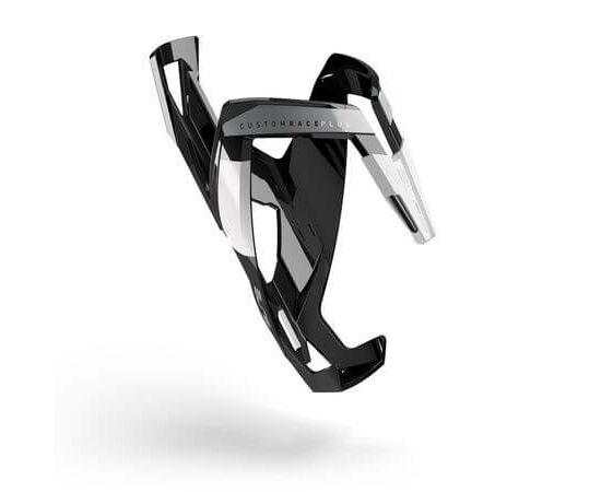 Elite Custom Race Plus kulacstartó, üvegszálas műanyag, fényes fekete-fehér