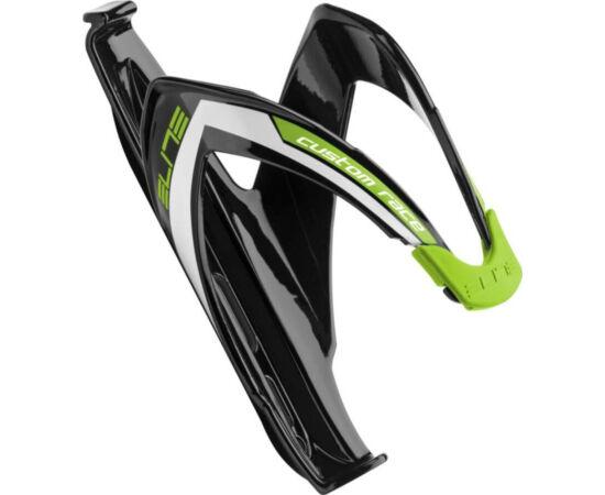 Elite Custom Race kulacstartó, üvegszálas műanyag, fényes fekete-zöld