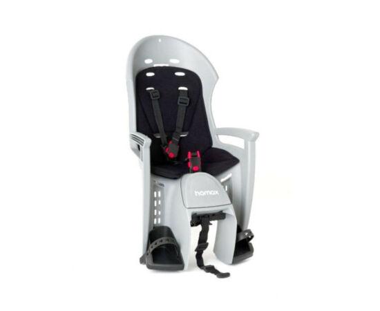 Hamax Plus Smiley gyerekülés hátra, szürke-fekete