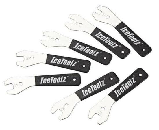 IceToolz kónuszkulcs készlet, 7 db-os, 13-19 mm