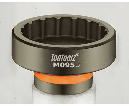 IceToolz középcsapágy (integrált) kihajtó szerszám Shimano XTR-hez, légkulcshoz