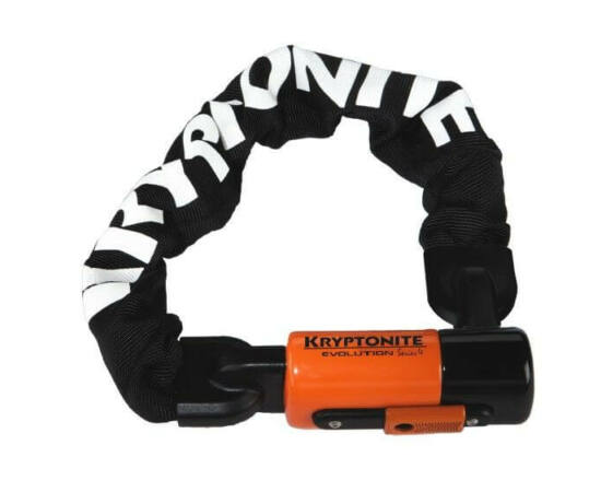 Kryptonite Evolution Series 4 1055 integrált láncos lakat 10 mm x 55 cm