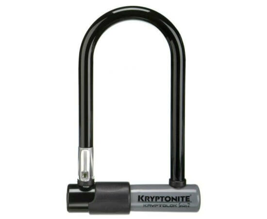 Kryptonite Kryptolok Mini-7 U-lakat, 178 x 82 x13 mm, fekete