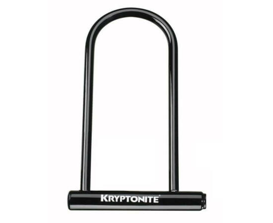 Kryptonite Keeper 12 LS U-Lakat, 292x102x12 mm, fekete