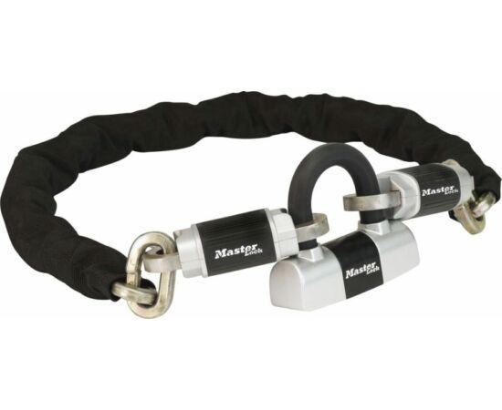 Master Lock Criterion 8239 láncos lakat, 100cm x 10mm, fekete