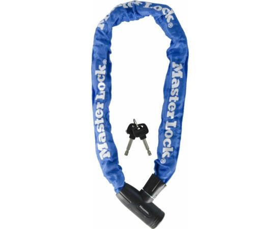 Master Lock 8391 integrált láncos lakat, 90cm x 8mm, kék